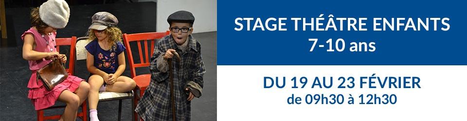 Bandeau stage théâtre enfants fév